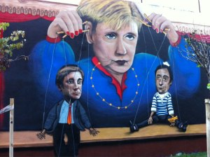 marionetas, vida, palco, manietados,