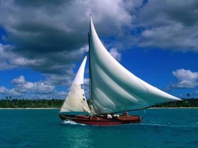 veleiro, mar, paz, alegria, felicidade,