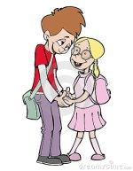 primeiro amor, escola, professora, colegas